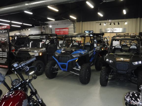ATVs in Our Showroom